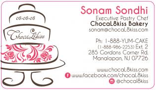 Sonam Business Card